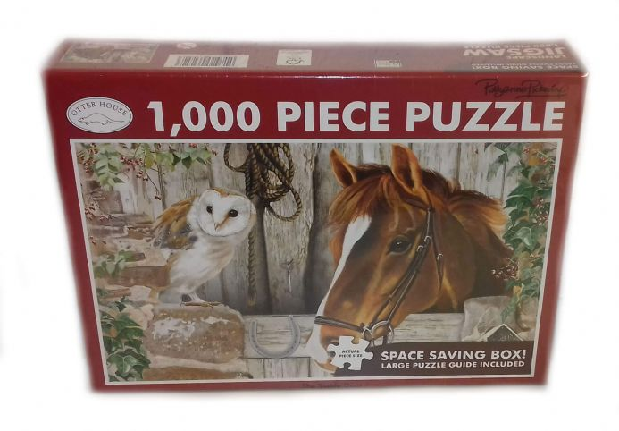 The Stable Door Landscape 1000 Piece Jigsaw